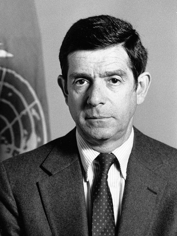 Ex Secretario Ejecutivo Gert Rosenthal