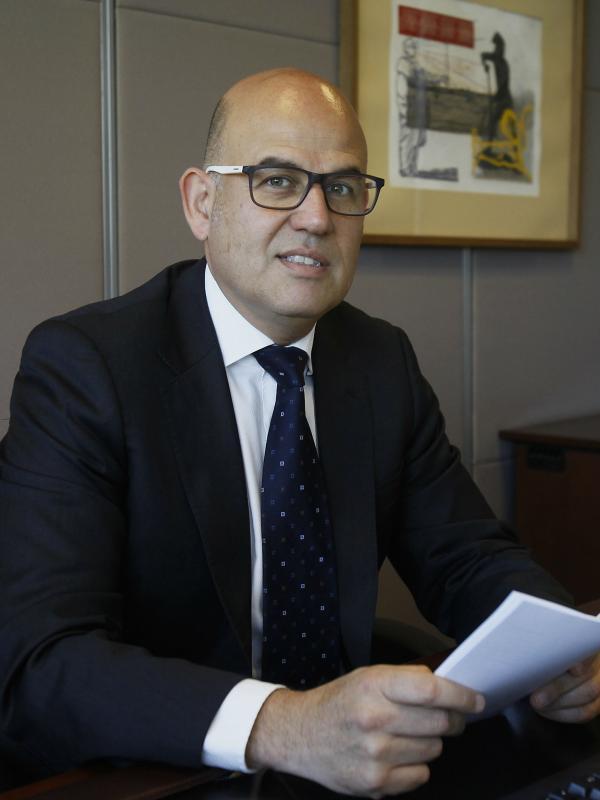 Foto de Luis Fidel Yáñez, Oficial a cargo de la Secretaría de la Comisión