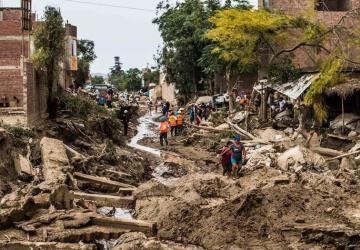 Taller regional sobre riesgo de desastres naturales