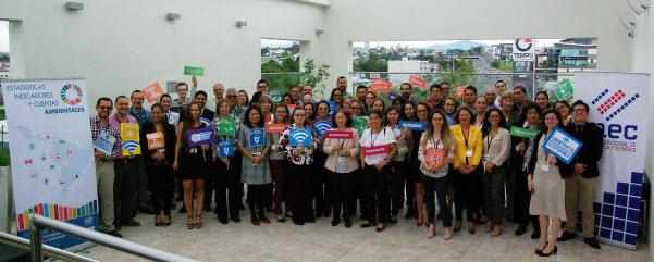 Curso-taller metodología para elaborar y dar continuidad a indicadores ambientales ODS. Costa Rica, junio 2018