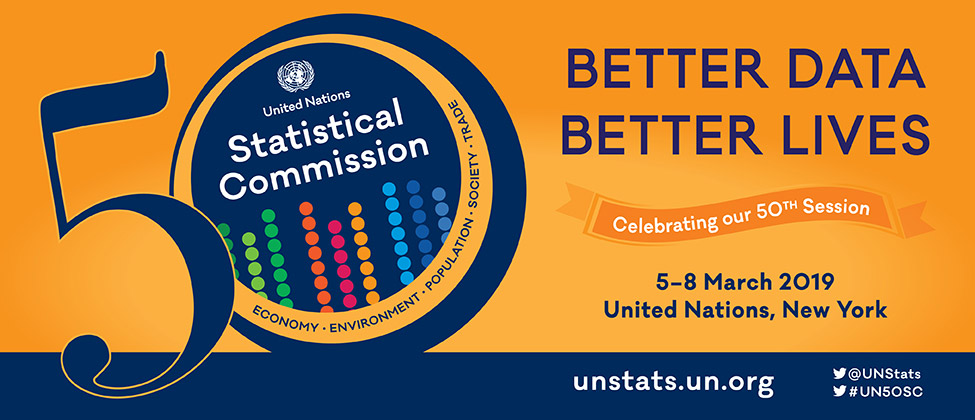 50h Session of the United Nations Statistical Commission