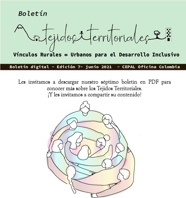 Boletín Tejidos territoriales CEPAL