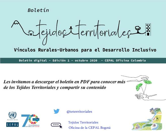 Boletín primera edición Tejidos Territoriales